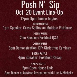 Other - North Atlanta Posh N' Sip, Sat. Oct 20